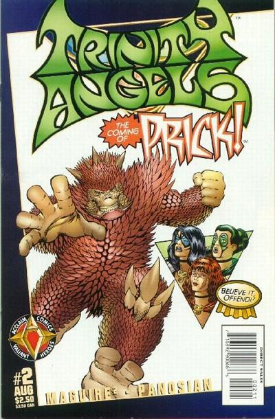 Cover for Trinity Angels (Acclaim / Valiant, 1997 series) #2