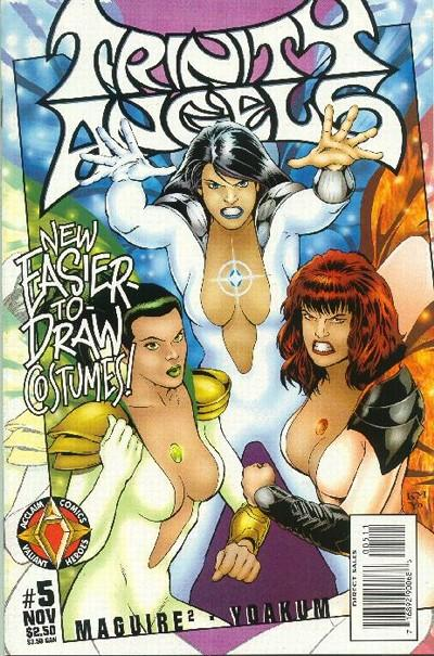 Cover for Trinity Angels (Acclaim / Valiant, 1997 series) #5