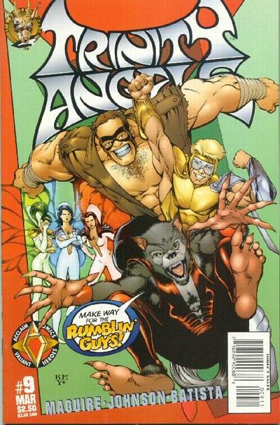 Cover for Trinity Angels (Acclaim / Valiant, 1997 series) #9