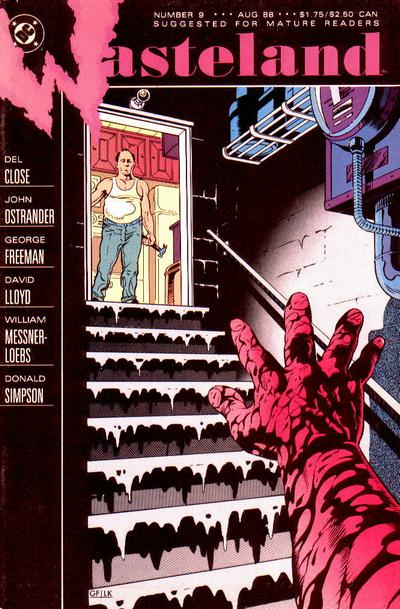 Cover for Wasteland (DC, 1987 series) #9