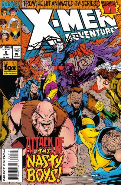 Cover for X-Men Adventures [II] (Marvel, 1994 series) #2