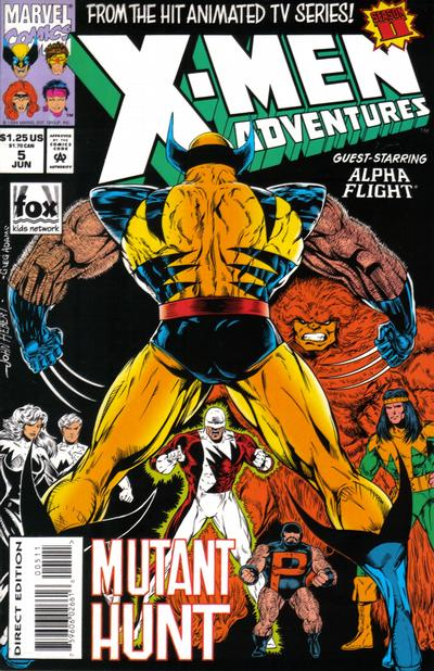 Cover for X-Men Adventures [II] (Marvel, 1994 series) #5