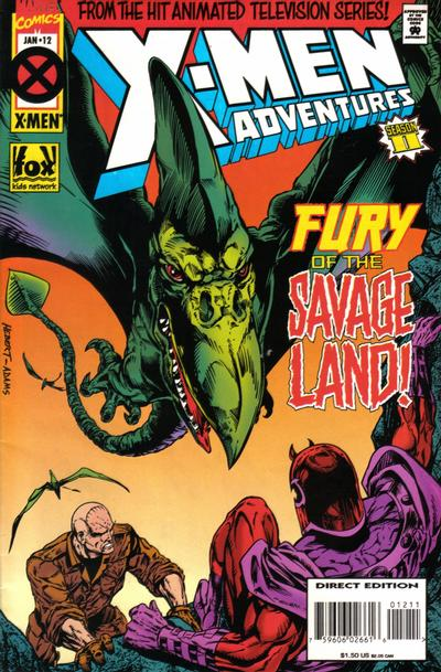Cover for X-Men Adventures [II] (Marvel, 1994 series) #12 [Direct Edition]