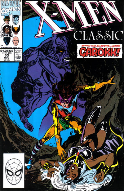 Cover for X-Men Classic (Marvel, 1990 series) #53 [Direct]