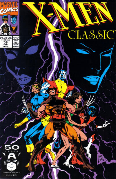 Cover for X-Men Classic (Marvel, 1990 series) #56 [Direct]
