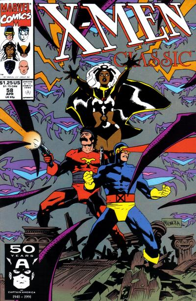Cover for X-Men Classic (Marvel, 1990 series) #58 [Direct]