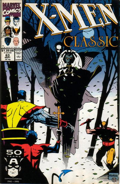 Cover for X-Men Classic (Marvel, 1990 series) #63 [Direct Edition]
