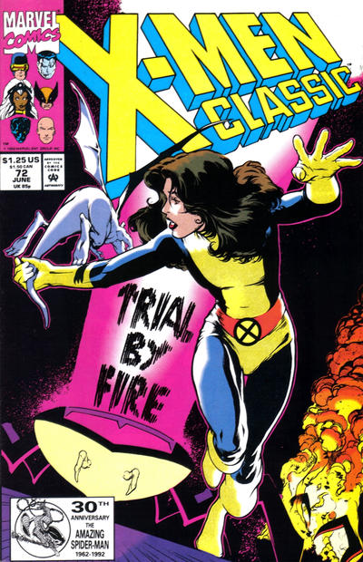 Cover for X-Men Classic (Marvel, 1990 series) #72 [Direct]