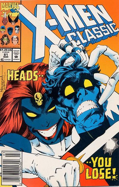 Cover for X-Men Classic (Marvel, 1990 series) #81 [Direct]