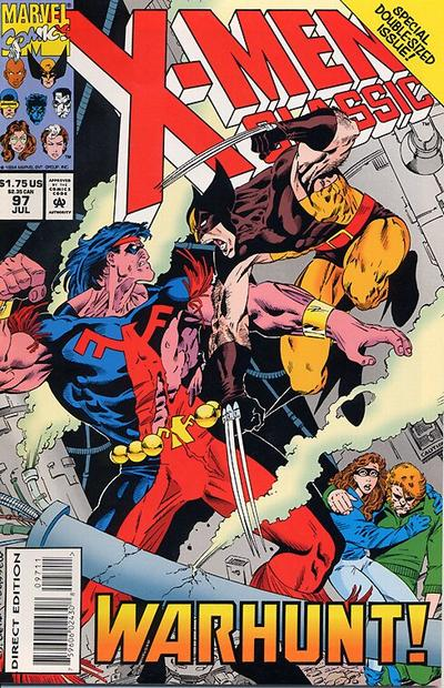 Cover for X-Men Classic (Marvel, 1990 series) #97 [Direct Edition]