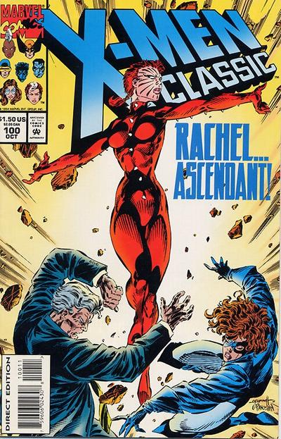 Cover for X-Men Classic (Marvel, 1990 series) #100 [Direct Edition]