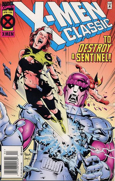 Cover for X-Men Classic (Marvel, 1990 series) #106 [Newsstand Edition]