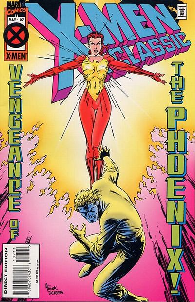 Cover for X-Men Classic (Marvel, 1990 series) #107 [Direct Edition]