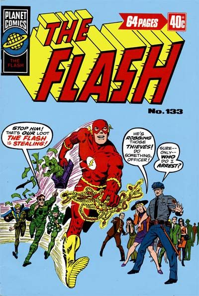 Cover for The Flash (K. G. Murray, 1975 ? series) #133