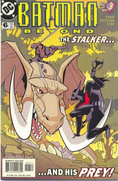 Cover for Batman Beyond (DC, 1999 series) #6