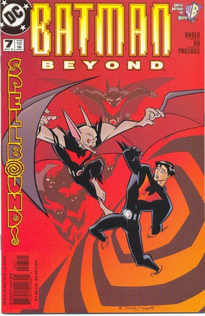 Cover for Batman Beyond (DC, 1999 series) #7