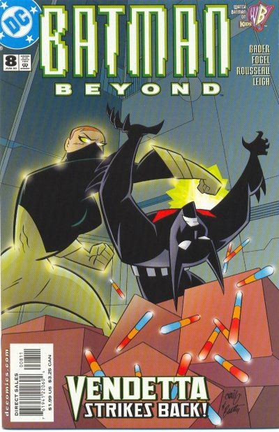 Cover for Batman Beyond (DC, 1999 series) #8