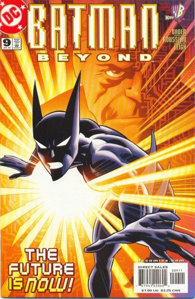 Cover for Batman Beyond (DC, 1999 series) #9