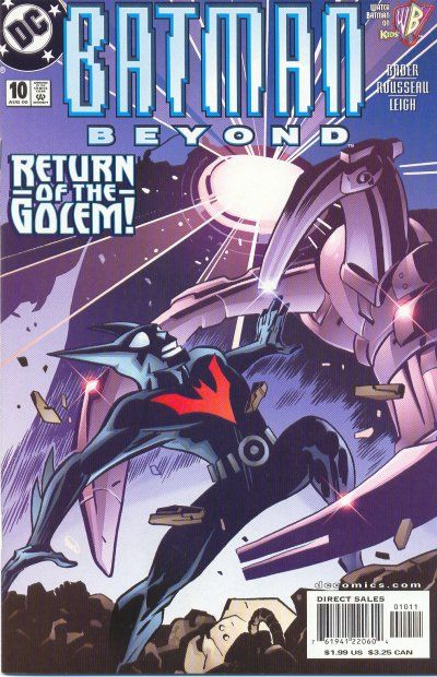 Cover for Batman Beyond (DC, 1999 series) #10