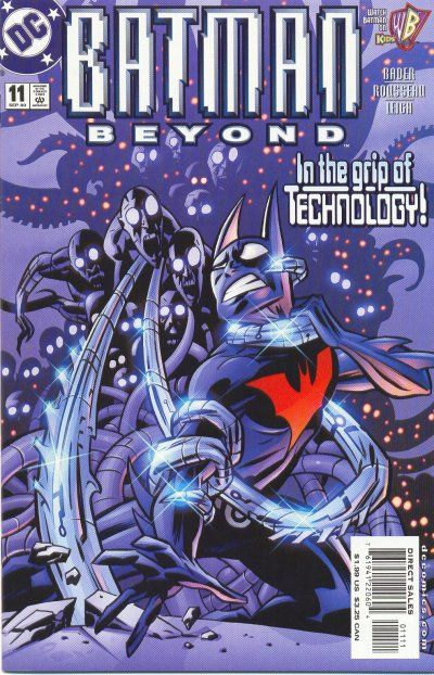 Cover for Batman Beyond (DC, 1999 series) #11