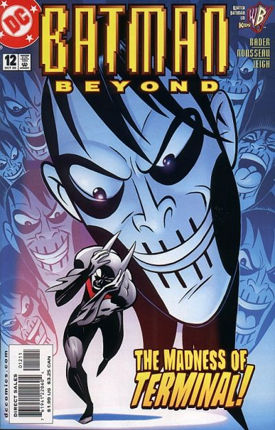 Cover for Batman Beyond (DC, 1999 series) #12
