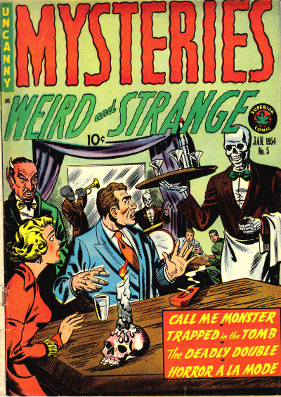 Cover for Mysteries (Superior, 1953 series) #5
