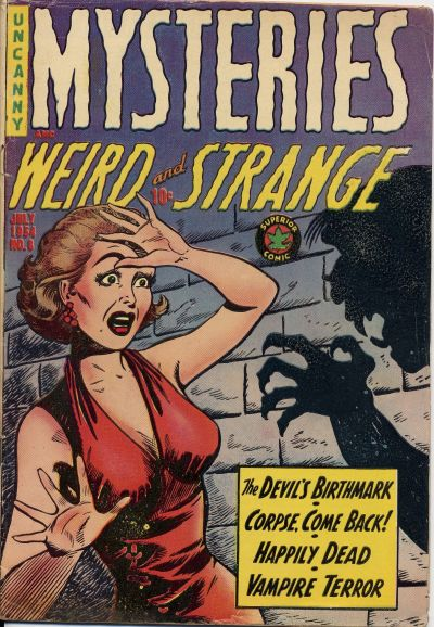 Cover for Mysteries (Superior Publishers Limited, 1953 series) #8