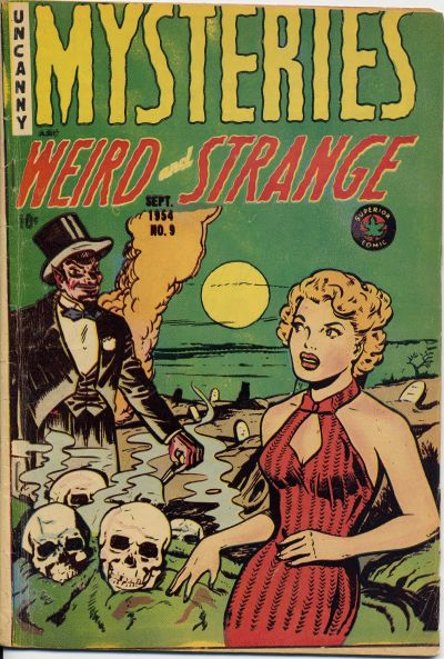 Cover for Mysteries (Superior, 1953 series) #9