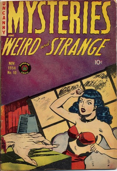 Cover for Mysteries (Superior, 1953 series) #10