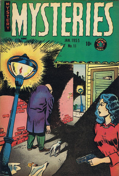 Cover for Mysteries (Superior, 1953 series) #11