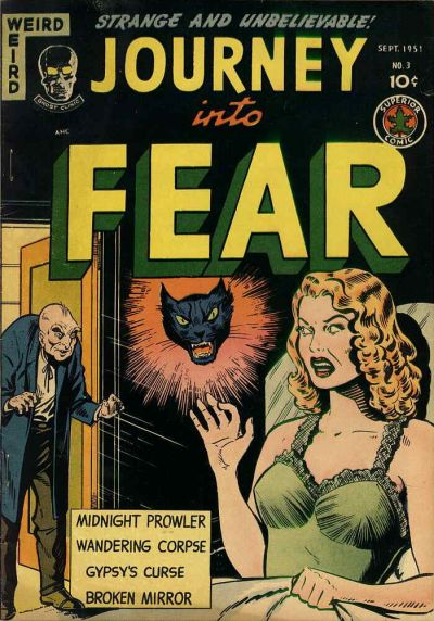 Cover for Journey into Fear (Superior, 1951 series) #3