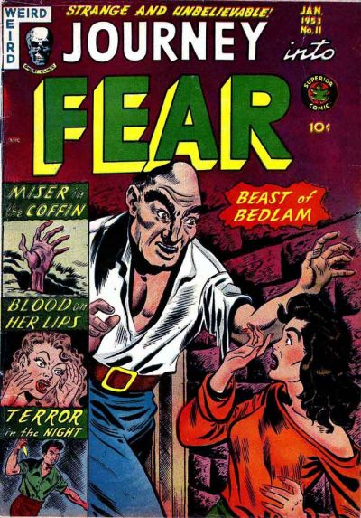 Cover for Journey into Fear (Superior Publishers Limited, 1951 series) #11