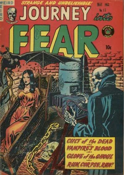 Cover for Journey into Fear (Superior Publishers Limited, 1951 series) #13
