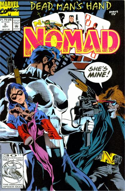 Cover for Nomad (Marvel, 1992 series) #5 [Direct]