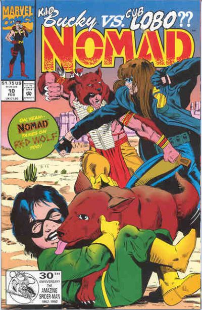 Cover for Nomad (Marvel, 1992 series) #10 [Direct]