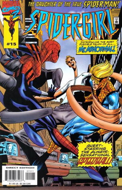 Cover for Spider-Girl (Marvel, 1998 series) #15