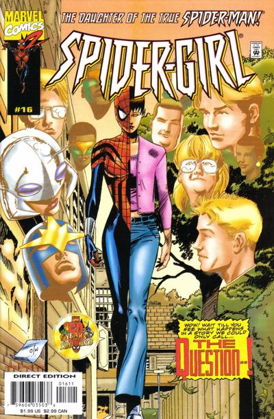 Cover for Spider-Girl (Marvel, 1998 series) #16