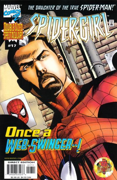 Cover for Spider-Girl (Marvel, 1998 series) #17