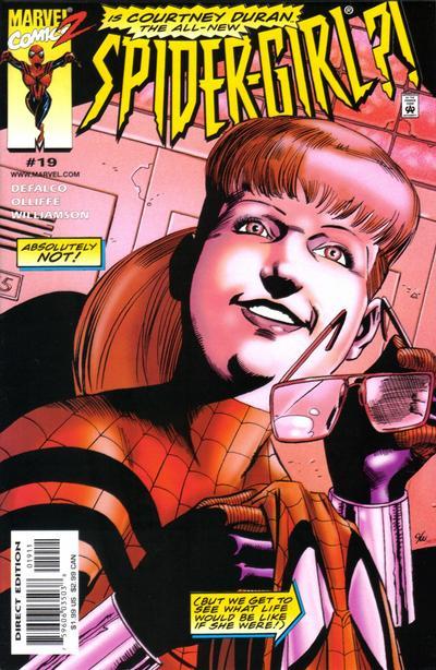 Cover for Spider-Girl (Marvel, 1998 series) #19