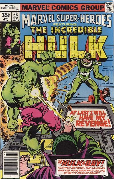 Cover for Marvel Super-Heroes (Marvel, 1967 series) #68
