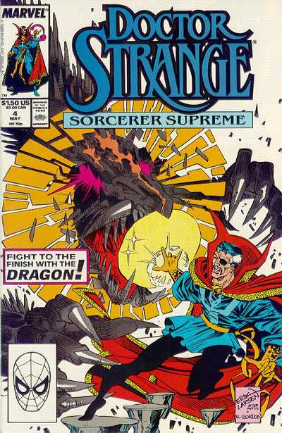 Cover for Doctor Strange, Sorcerer Supreme (Marvel, 1988 series) #4