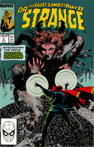 Cover for Doctor Strange, Sorcerer Supreme (Marvel, 1988 series) #6