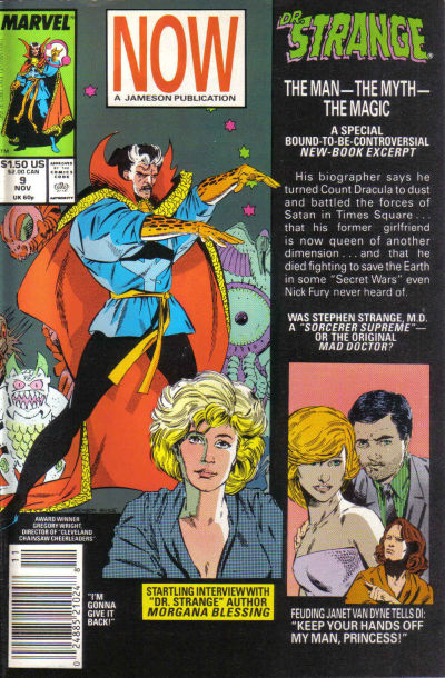 Cover for Doctor Strange, Sorcerer Supreme (Marvel, 1988 series) #9