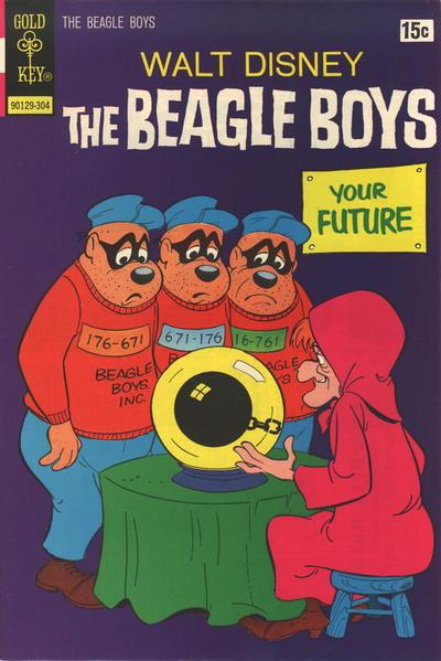 Cover for Walt Disney The Beagle Boys (Western, 1964 series) #16 [Whitman]