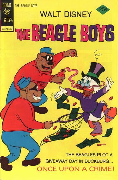 Cover for Walt Disney The Beagle Boys (Western, 1964 series) #26 [Gold Key]
