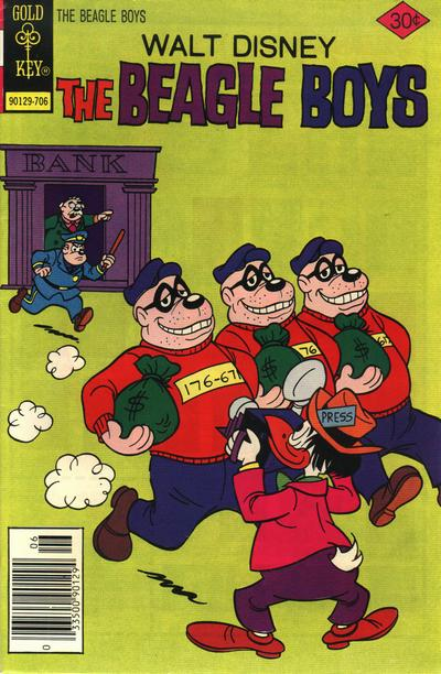 Cover for Walt Disney The Beagle Boys (Western, 1964 series) #35 [Gold Key]
