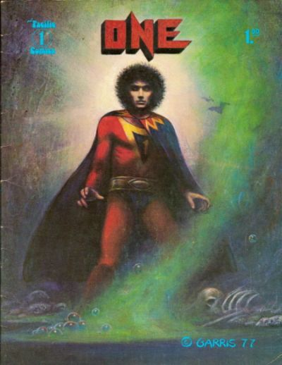Cover for One (Pacific Comics, 1977 series) #1