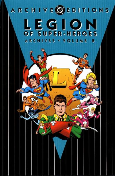 Cover for The Legion of Super-Heroes Archives (DC, 1991 series) #8