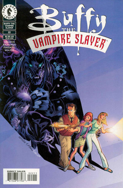 Cover for Buffy the Vampire Slayer (Dark Horse, 1998 series) #22