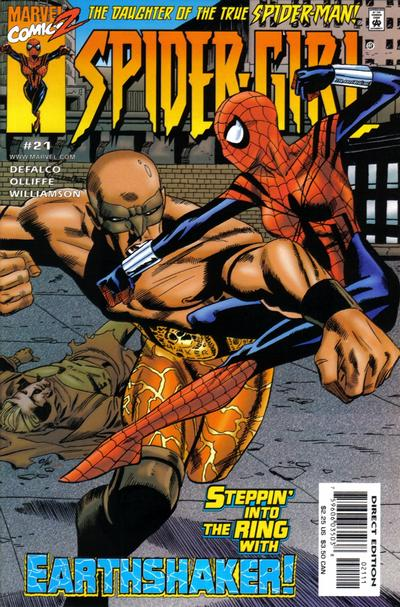 Cover for Spider-Girl (Marvel, 1998 series) #21